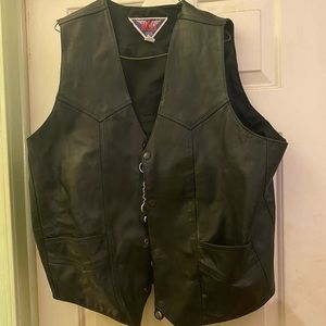 Mob Leather Vest